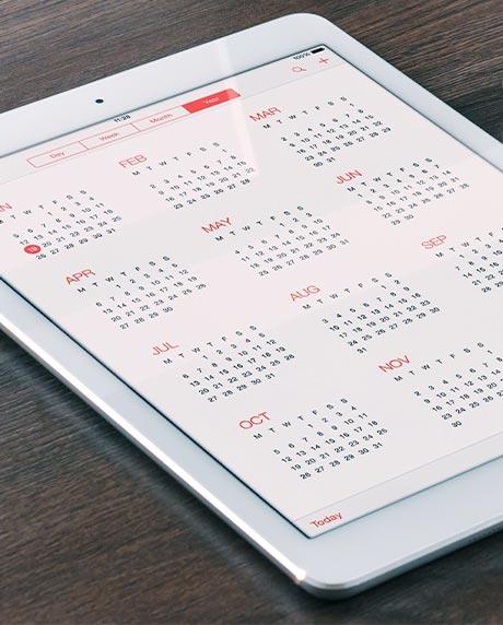 CSN Program Schedule